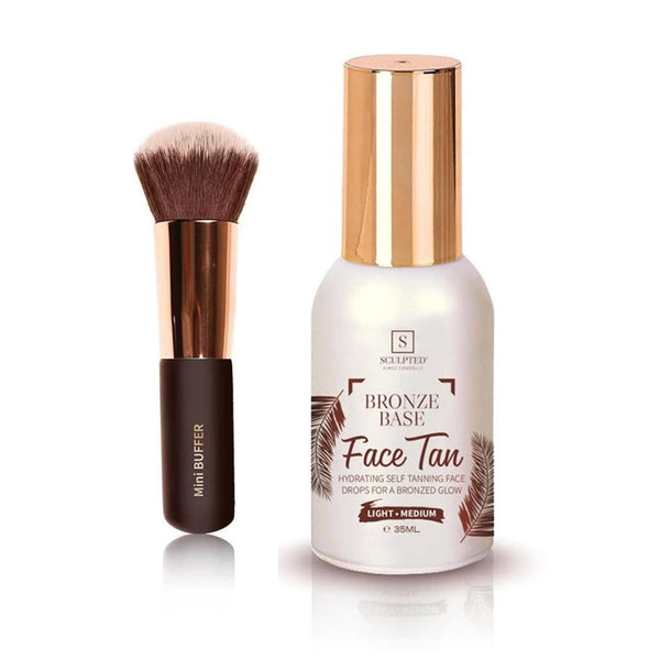 Sculpted By Aimee Connolly Bronze Base Light medium includes mini Buffer Brush