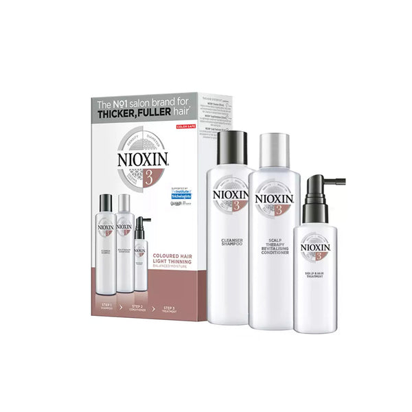 Nioxin - System Kit 3 for colored hair with light thinning