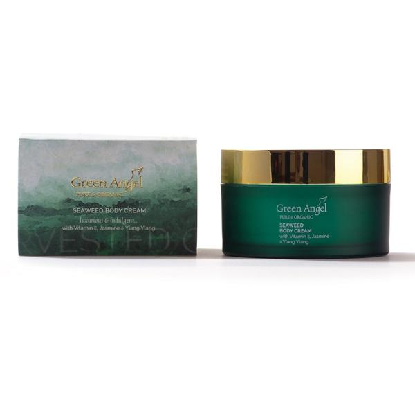 Green Angel Body Cream – Seaweed, Jasmine, Neroli 200ml, Body Cream, Green Angel, Ronaghans Pharmacy , [variant_title], [option1], [option2], [option3].Green Angel Body Cream – Seaweed, Jasmine, Neroli 200ml - Ronaghans Pharmacy