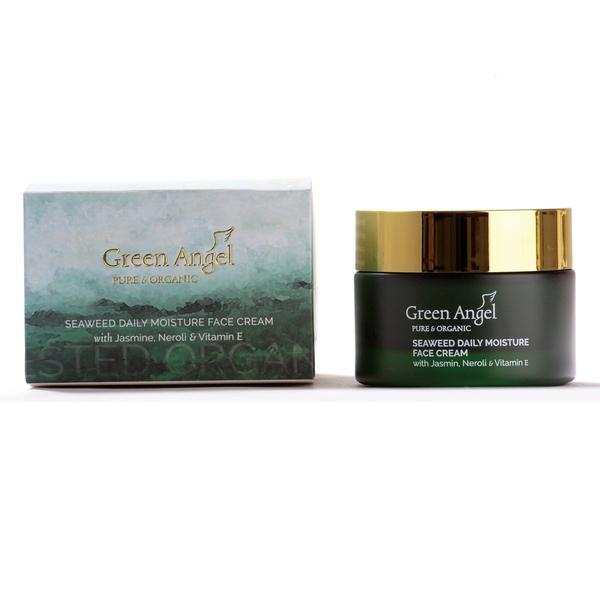 Green Angel Daily Moisture Face Cream Seaweed 50ml, Face Cream, Green Angel, Ronaghans Pharmacy , [variant_title], [option1], [option2], [option3].Green Angel Daily Moisture Face Cream Seaweed 50ml - Ronaghans Pharmacy