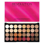 Makeup Revolution Ultra 32 Eyeshadow Palette Flawless 3 Resurrection, Eyeshadow, Makeup Revolution, Ronaghans Pharmacy , [variant_title], [option1], [option2], [option3].Makeup Revolution Ultra 32 Eyeshadow Palette Flawless 3 Resurrection - Ronaghans Pharmacy