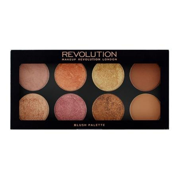 Makeup Revolution Ultra Blush Palette, Blusher, Makeup Revolution, Ronaghans Pharmacy , Golden Sugar 2, Golden Sugar 2, [option2], [option3].Makeup Revolution Ultra Blush Palette - Ronaghans Pharmacy