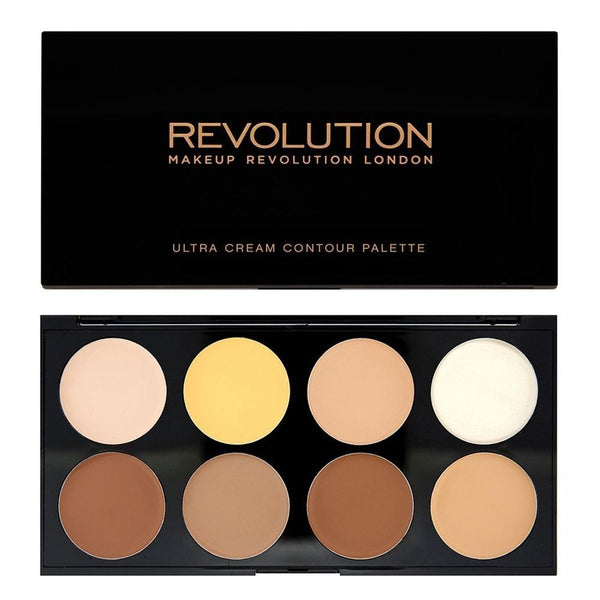 Makeup Revolution Ultra Cream Contour Palette, Contour, Makeup Revolution, Ronaghans Pharmacy , [variant_title], [option1], [option2], [option3].Makeup Revolution Ultra Cream Contour Palette - Ronaghans Pharmacy