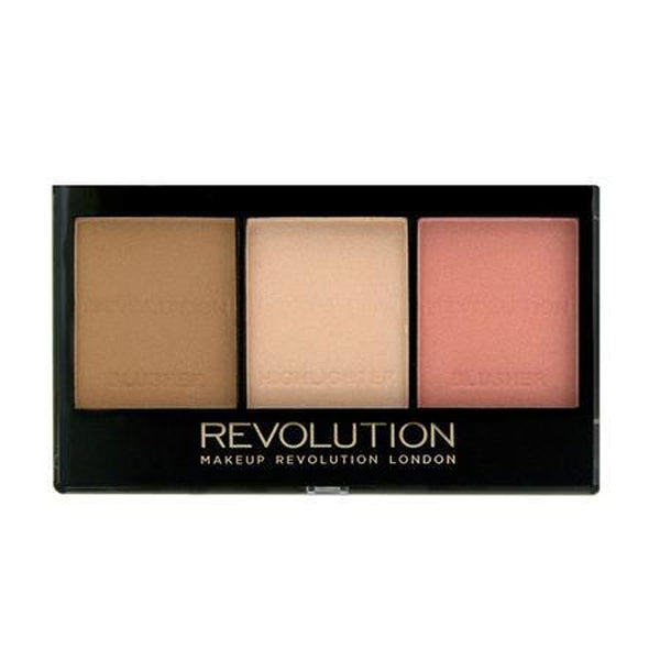 Makeup Revolution Ultra Sculpt & Contour kit - 2 shades, Contour, Makeup Revolution, Ronaghans Pharmacy , Ultra Fair C01, Ultra Fair C01, [option2], [option3].Makeup Revolution Ultra Sculpt & Contour kit - 2 shades - Ronaghans Pharmacy