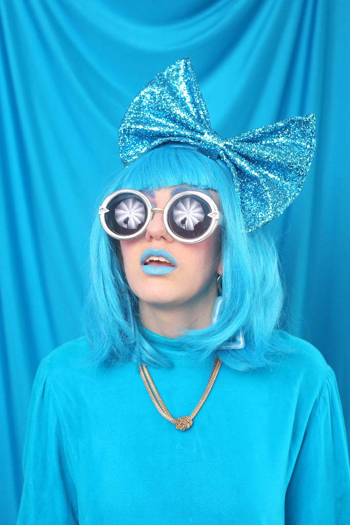 Oversized Bow (BLUE)