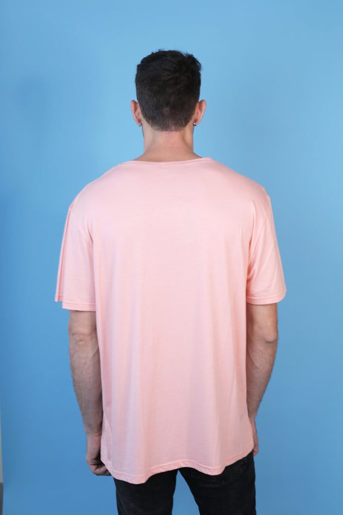 Oversized Salmon Colored Gay Single Daddy Tee by The Dreamer