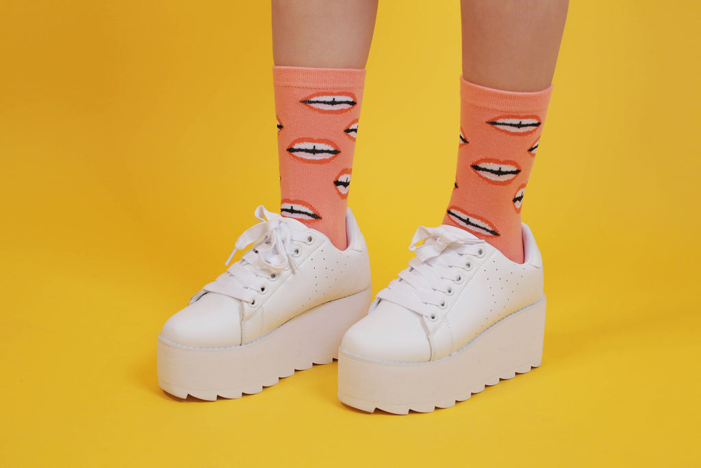 Haley Elsaesser Mouthy Socks