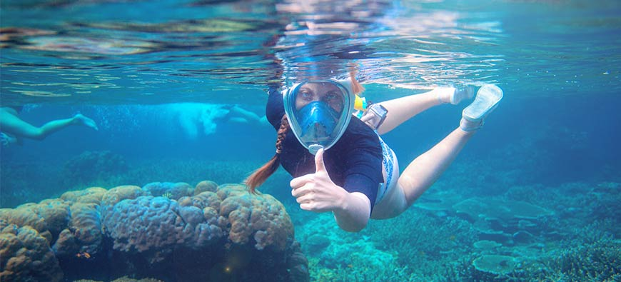 Are Full Face Snorkel Masks Safe?