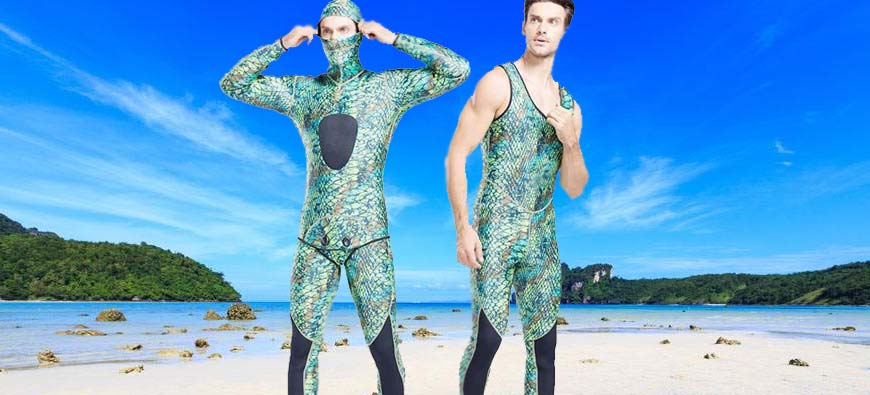 Best Camo Spearfishing Wetsuits to Buy in 2019