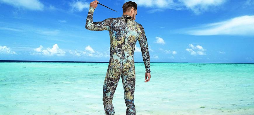 How to easily put on a diving wetsuit?