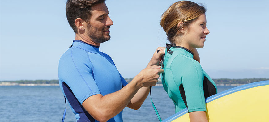Why Do Most Wetsuits Zip in the Back?