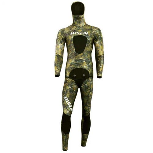 HISEA 7mm Spearfishing Reef Camo Wetsuit