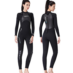 Dive & Sail Adults 3mm Full Length Shark Skin Wetsuit
