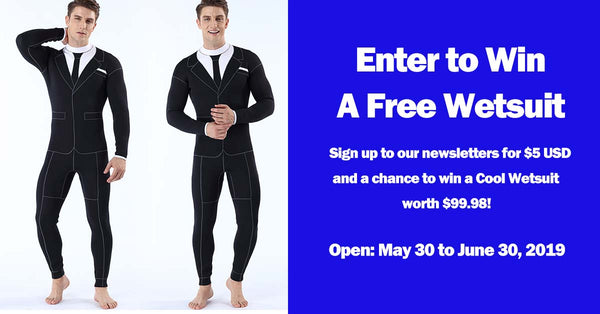 2019 June Wetsuit Giveaway from Buy4Outdoors.COM