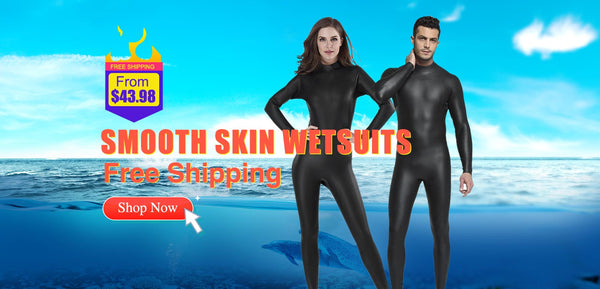 Black Rubber Wetsuits