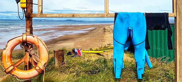 Dry a Wetsuit