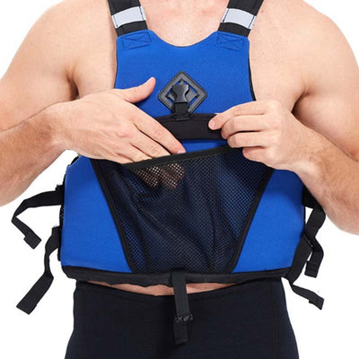 Yon Sub Kayak Fishing Float Life Jacket for Adults