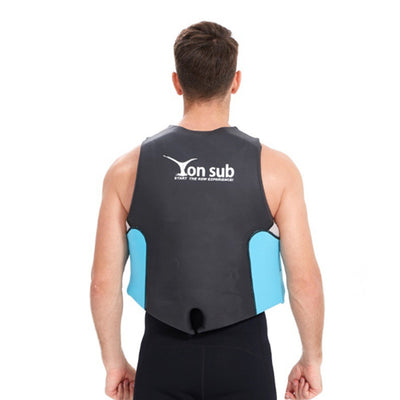 Yon Sub Mens Plus Size Neoprene Motorboat Life Jacket