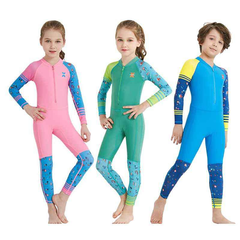 DIVE & SAIL Kids Cartoon Scuba Dive Skin Suit