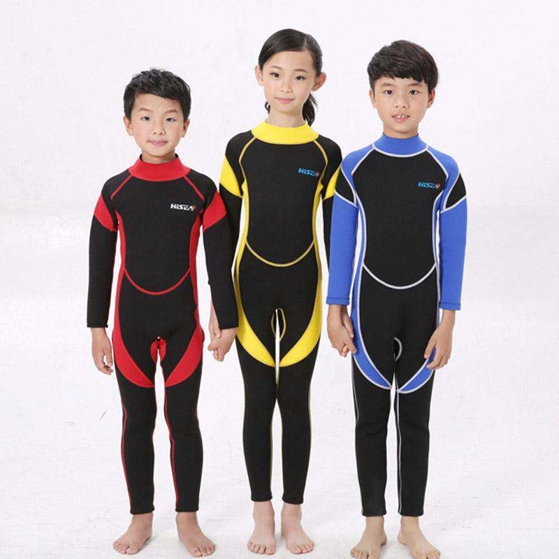 HISEA 2.5mm Scuba Diving Wetsuit for Boys Girls