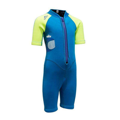 Children 2MM Shark Printed Shorty Wetsuit for Surfing Snorkeling