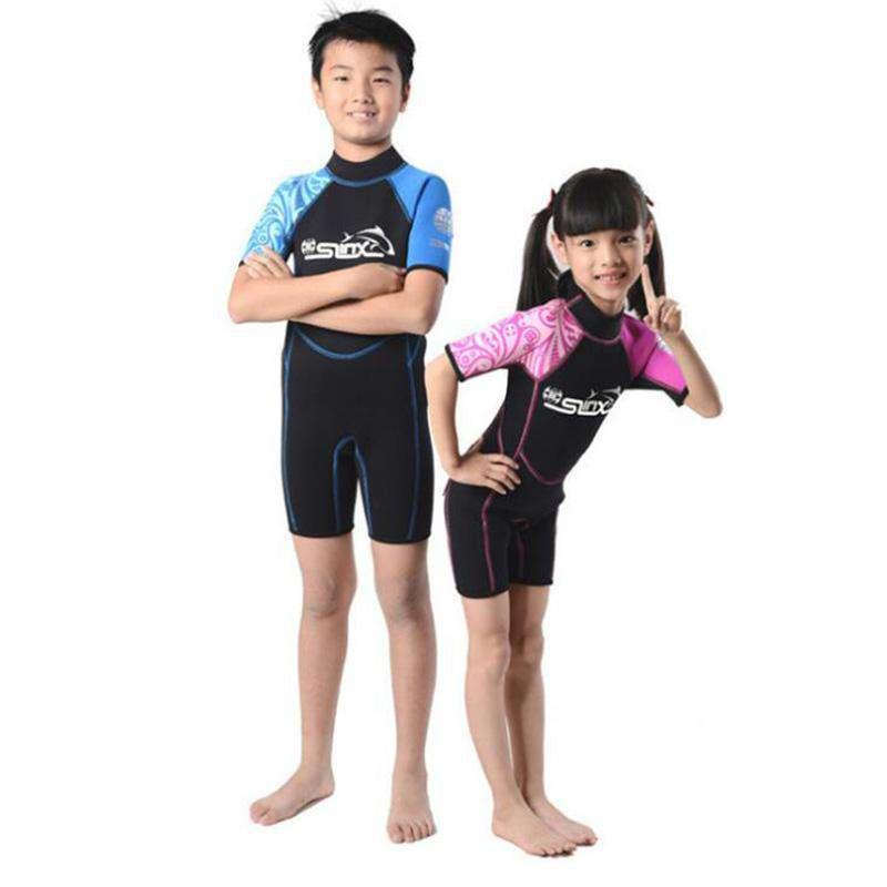SLINX 2mm Kids Shorty Wetsuit Junior Snorkeling Suit