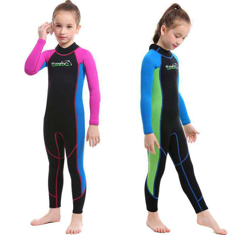 Slinx Junior 2MM Swimming Full Wetsuit for Girls Boys