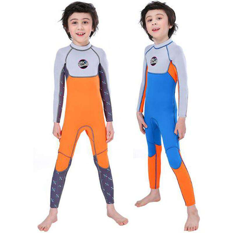 SLINX Boys Junior 2.5mm Full Length Scuba Wetsuit