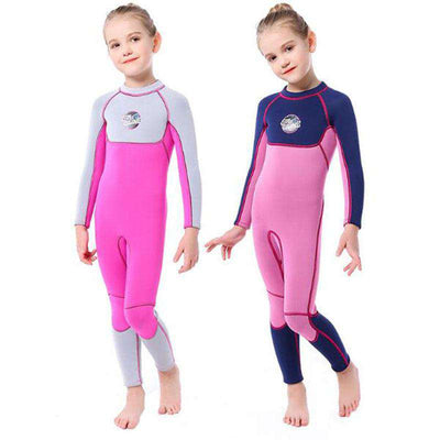 SLINX 3mm Kids Girls Winter Full Length Wetsuit