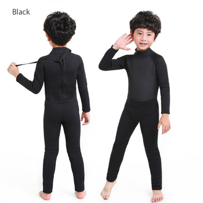 MYLEDI 3 to 12 Years Old Kids 2.5MM Full Wetsuit