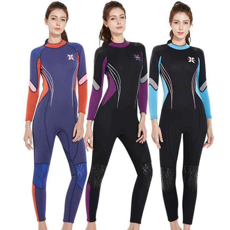Dive & Sail 3MM Ladies Back Zipper Neoprene Wetsuit