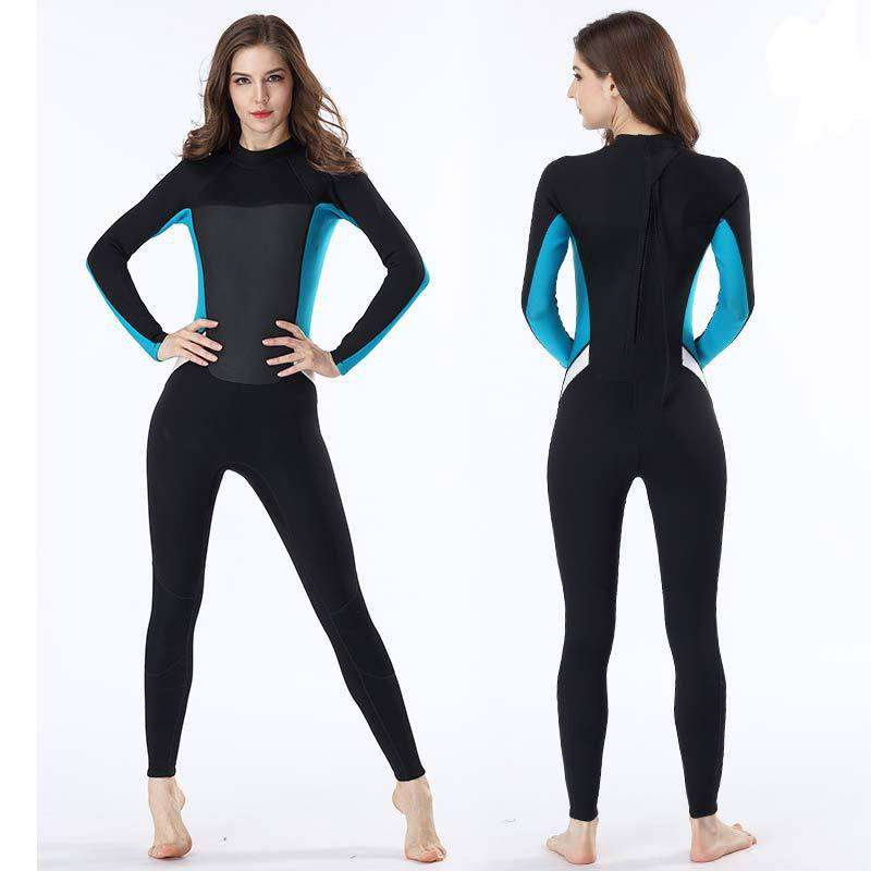 MYLEDI Ladies 2MM Full Length Back Zip Wetsuit