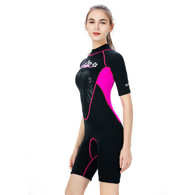 SLINX Short Sleeve 3mm Shorty Wetsuit for Ladies