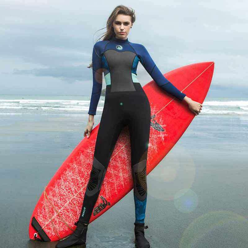 HISEA Ladies 1.5mm Freediving Full Body Wetsuit