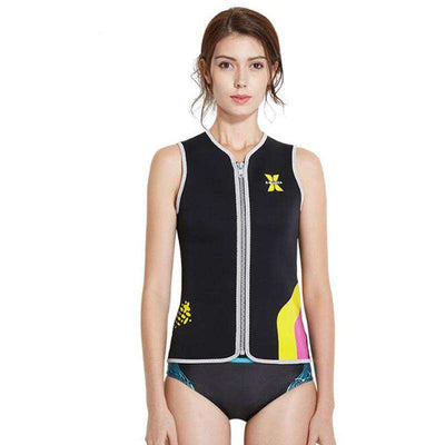 Women's 3MM Sleeveless Diving Surfing Wetsuit Vest