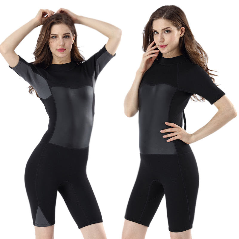 MYLEDI Ladies Neoprene 2MM Shorty Summer Wetsuit
