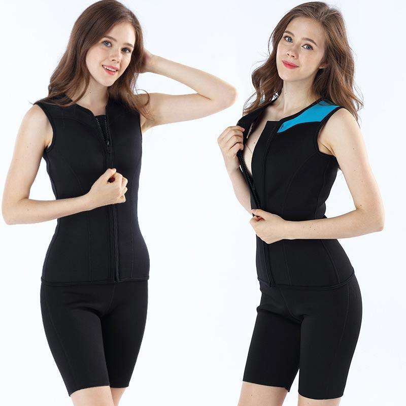 MYLEDI Ladies 3MM Neoprene Wetsuit Vest Sleeveless Top