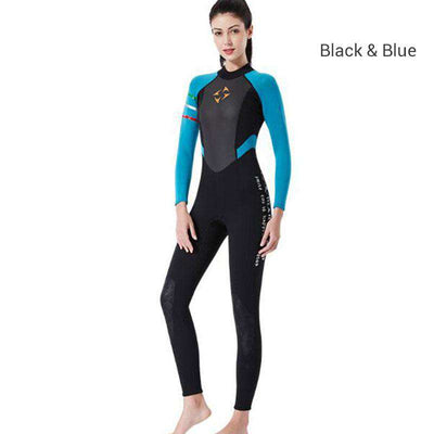 Dive & Sail Ladies 3mm One Piece Freediving Wetsuit