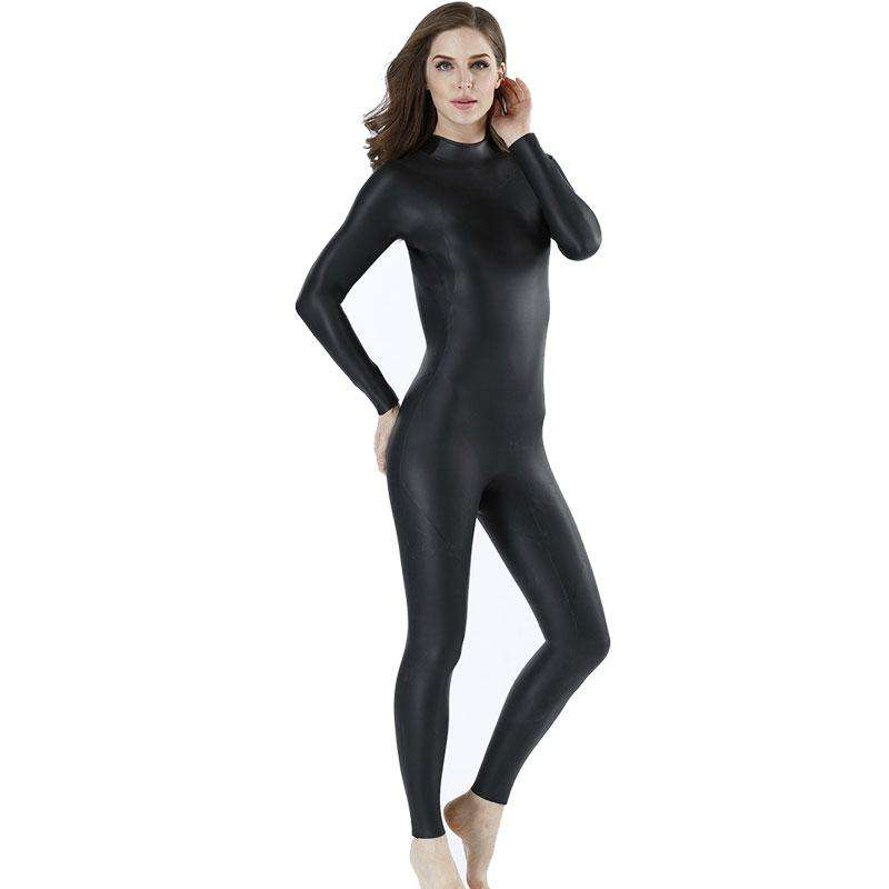 MYLEDI Ladies 3mm Smoothskin Rubber Freedive Wetsuit