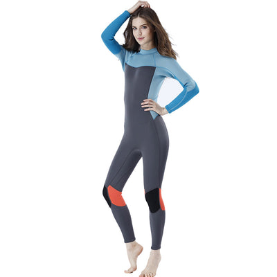 MYLEDI 3mm Colorful Freediving Wetsuit for Women