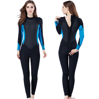 MYLEDI 3MM Full Neoprene Womens Scuba Wetsuit