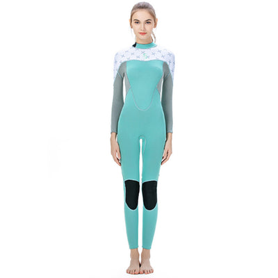 SLINX 2MM Ladies Back Zip Print Fullsuit Wetsuit
