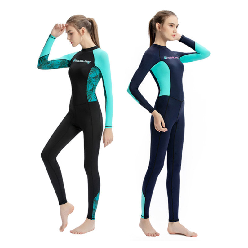 SLINX Ladies Thin Summer Full Length Dive Skin Suit