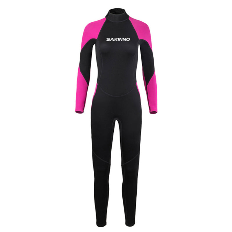 SAKINNO 2MM Women's Full Body Diving Wetsuit