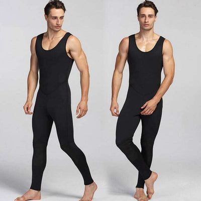 Zipless Men's 2 Piece 3mm Wetsuit with Hood