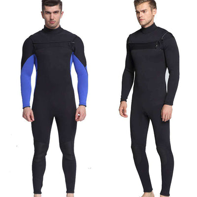 Men's 3MM Neoprene One-piece Chest Zip Wetsuit