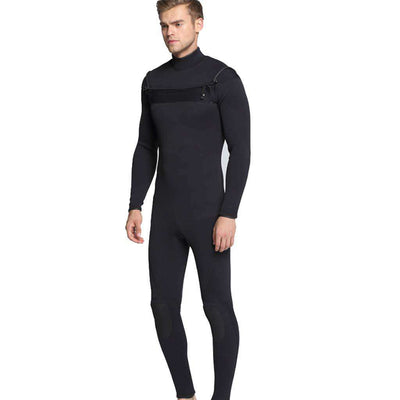MYLEDI Men's 3MM Neoprene Wetsuit One-piece Chest Zip Scuba Suit