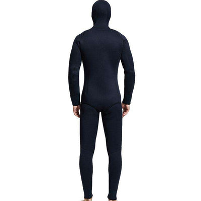 MYLEDI Men's 7MM 2-Piece Cold Water Winter Diving Wetsuit with Hood