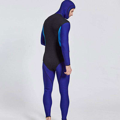 Men's 3MM Two Piece Wetsuit with Hood for Snorkeling