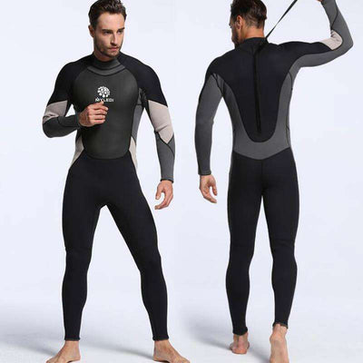 3MM One Piece Full Body Diving Suit for Men